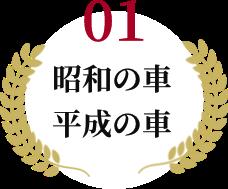 昭和の車 平成の車