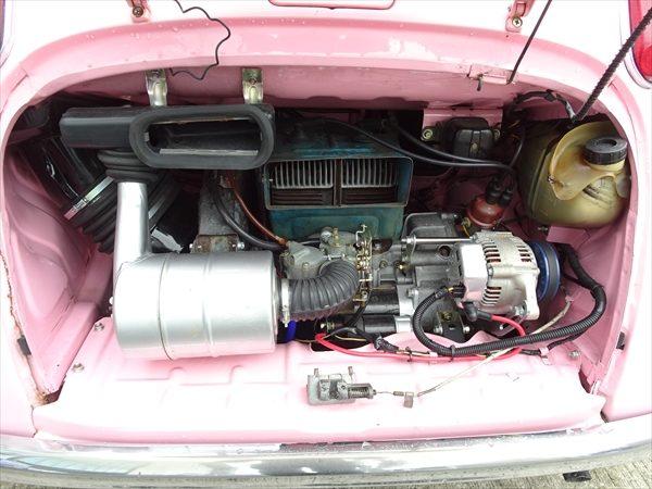 スバル360 エンジン