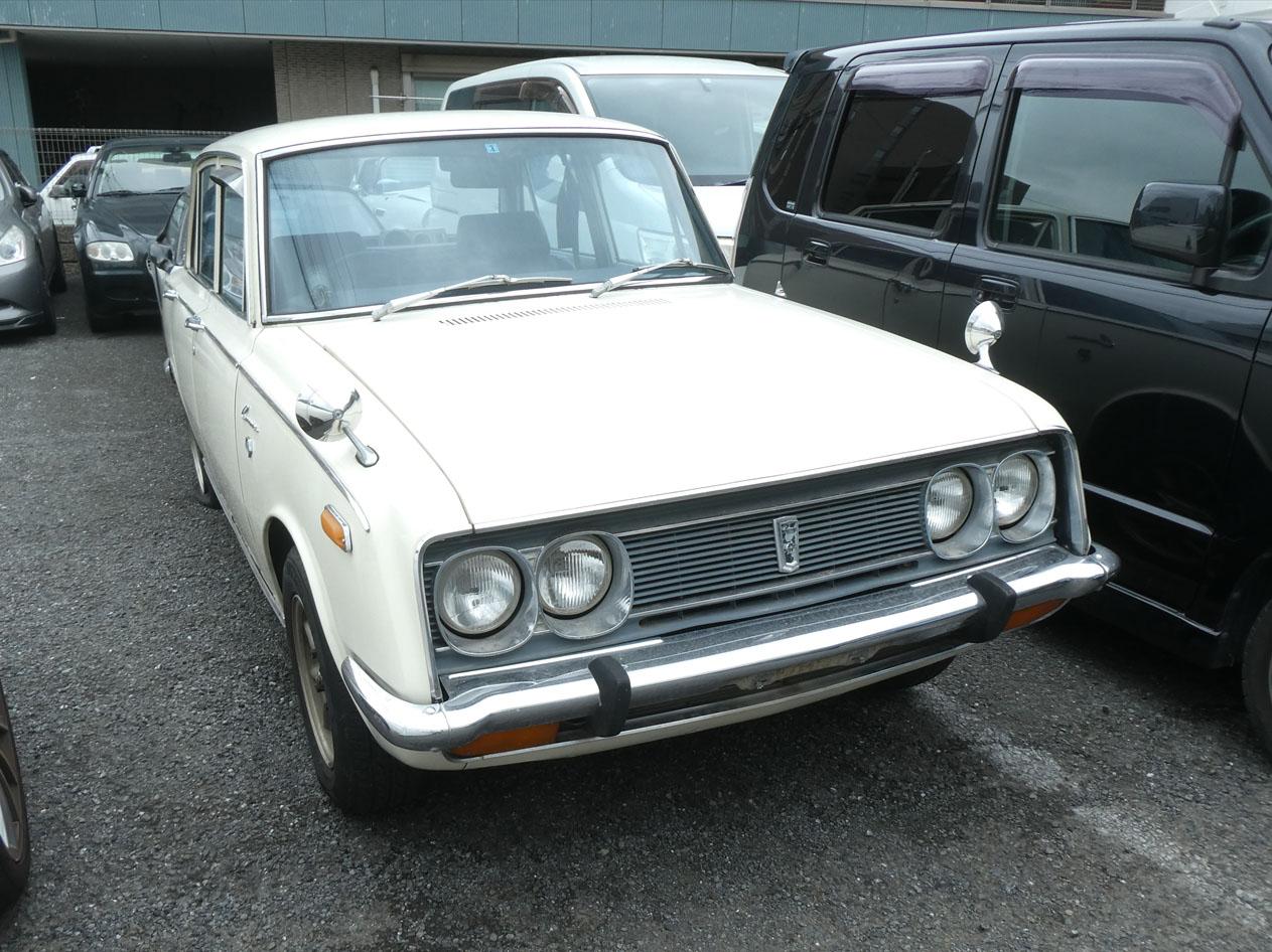 [買取入庫情報]  昭和44年式 トヨペットコロナ(RT40型)